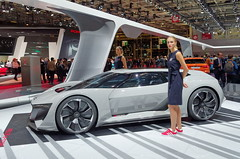 Audi and the band 1/3 (Zygonyx) Tags: pentax k01 hd1850mm dxo photolab paris mondialdelauto2018