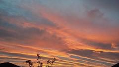 Fire in the Sky, Inverness, Sep 2018 (allanmaciver) Tags: colours fire streaks evening set sun inverness highlands scotland allanmaciver mobile samsung
