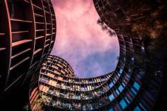 Axel Towers (Maria Eklind) Tags: streetview moln arkitektur architecture building byggnad axeltorv street copenhagen denmark sky københavn axeltowers city himmel clouds köpenhamn regionhovedstaden danmark dk