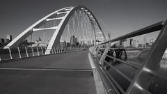 edmonton_40 (Arif Jaffer Photography) Tags: blackandwhite bw architecture bridge yeg edmonton alberta sony mirrorless a7 2470 zeis f4 lines daytime october wideangle