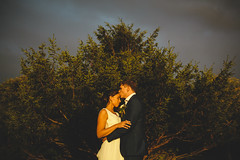 5DM39942 (markleonard) Tags: clevedon hall wedding photography bride groom portrait sunset couple shoot