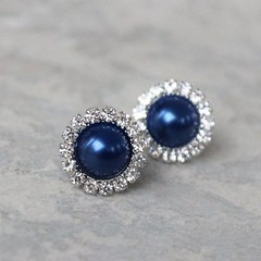Navy blue pearl earrings! https://t.co/eFVV0nQ4Cw #etsy #handmade gifts wedding jewelry shopping fashion cute https://t.co/lXg8PM6jIq (petalperceptions.etsy.com) Tags: etsy gift shop fashion jewelry cute