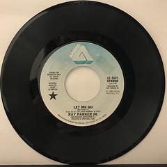 RAY PARKER JR.:LET ME GO(RECORD SIDE-A) (VINYL7 RECORDS) Tags: vinyl7
