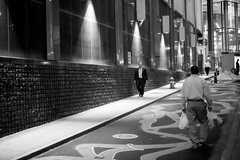 Humans (Paul McCarthy99) Tags: humanity street sony a6000 bw monochrome pittsburgh neewer 35mm f17 night alley people work