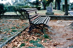 Attesa (michele.palombi) Tags: arezzo attesa film 35mm analogic shot colortec c41 negativo colore tuscany autunno
