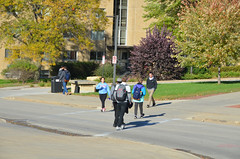 Students Walking (UWW University Housing) Tags: uww uwwhitewater uwwcampus residencehalls studentlife students movement nature social socializing lifestyle active happyness whitewaterwarhawks whitewaterwi studentinvolvement