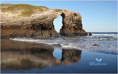 Playa de Las Catedrales (ancaresdelugo) Tags: anselmo anselmotorneiro torneiro playas playacatedrales canon canon5dmarkiv augassantas anselmin anselmín mareabaja bajamar fullframe