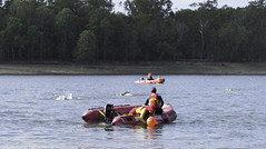 "Cairns Crocs Lake Tinaroo Triathlon-Swim Leg • <a style=""font-size:0.8em;"" href=""http://www.flickr.com/photos/146187037@N03/44678628945/"" target=""_blank"">View on Flickr</a>"