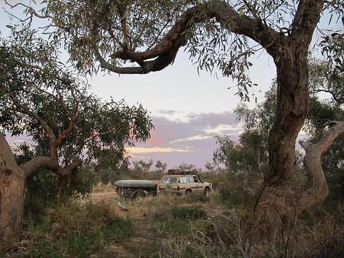 Campsite at Algebuckina