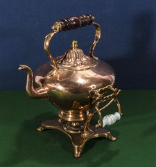 """Copper spirit kettle (newpeter) Tags: antique collectables vase silver gold ceramics enamel cinnabar clock clocks watch watches jade ivory glass worcester terracotta bronze buddha """"parian ware"""" """"arts crafts"""" paintings oriental japanese chinese lladro porcelain"""