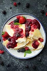 Berries & Cream Blender Crepes (katalaynet) Tags: follow happy me fun photooftheday beautiful love friends