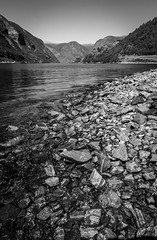 Rocky Beach (tash.photographs) Tags: norway fjords flam landscape otternes aurland aurlandsfjorden seascape beach rocks