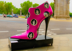 High heels (bobbyloomba) Tags: highheels madrid shoes streetscene