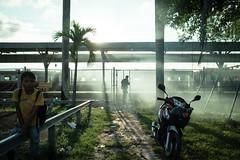 * (Sakulchai Sikitikul) Tags: street snap streetphotography summicron songkhla sony smoke mist 35mm leica thailand hatyai silhouette a7s