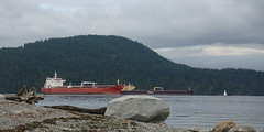 Moored in Burrard inlet off Cates Park (D70) Tags: stibattery entrance indianarm moored burrard inlet crudeoiltanker dubaiattraction dollarton northvancouverdistrict britishcolumbia canada sony dscrx100m5 ƒ56 257mm 1250 125 catespark beach driftwood rocks vessels oilchemicaltanker oil chemical tanker