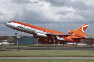 C-GCPI Douglas DC10-30 EGPK 1983