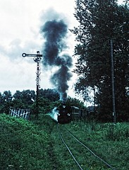 Px48 and semaphore (gearlok) Tags: pkp dobre kujawa
