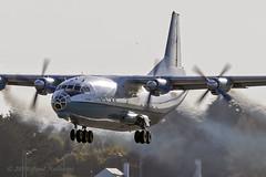 UR-CPZ An-12 Aerovis (Anhedral) Tags: urcpz antonov an12 an12bp aerovis viz viz301 takeoff soviet transport freighter 402002 shannonairport einn snn