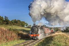 Powering Along (4486Merlin) Tags: 65894 exlner goodstrain heritagerailways nerclassj27 northeast northyorkshiremoorsrailway railways steam transport moorgates northyorkshire unitedkingdom gbr mattfishercharter