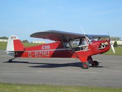 G-BZHU Wag-Aero CUBy S Trainer (c/n 351) Kemble (andrewt242) Tags: gbzhu wagaero cuby s trainer cn 351 kemble