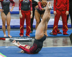 132A3573 (Knox Triathlon Dude) Tags: 2016 isu gymnastics leotard leotards sports usa illinoisstateuniversity women female college university legs thighs leotardo レオタード 레오타드 леотард костюмакробата