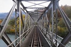 RhB - Farsch Brücke Vorderrhein (Kecko) Tags: 2018 kecko switzerland swiss schweiz graubünden graubuenden gr bonaduz tamins rheinschlucht ruinaulta rhein river fluss rhine rhätischebahn rhaetian railway railroad bahn viafierretica rhb eisenbahn farschbrücke vorderrhein bridge swissphoto geotagged geo:lat=46824100 geo:lon=9398920