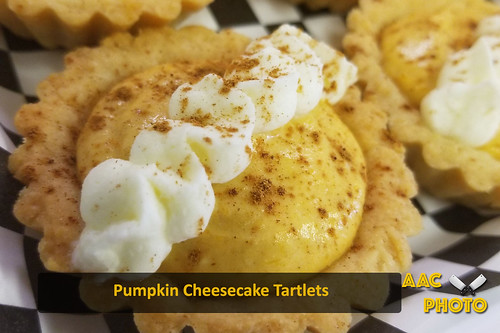 """Pumpkin Cheesecake Tartlets • <a style=""""font-size:0.8em;"""" href=""""http://www.flickr.com/photos/159796538@N03/45035357292/"""" target=""""_blank"""">View on Flickr</a>"""
