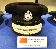 Glasgow Police Museum - Glasgow Scotland - 2/10/18 (DanoAberdeen) Tags: danoaberdeen china peoplesrepublicofchina cap police hongkong museum history olddays vintage memorabilia candid amateur medals insignia 2018 enforcement policescotland strathclydepolice badge pin plaque sempervigilo bluelights bobbies oldbillauthority policeofficer woman man law justice barlinnie emergencyservices scottish force ranking constable chief 60s 70s 80s glasgowpolicemuseum glasgowscotland handcuff handcuffs restrained detained guilty