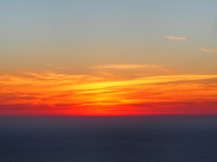 Sunset (id est) Tags: sunset sun red sky splendour sintra portugal horizont sea
