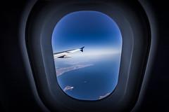 high altitude (lafoto.) Tags: hight altitude travel fly light blue sea seascape landscape ile mer plane avion inside grèce dodécanèse