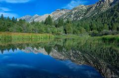 Twin Lakes Mountain Range (J.R. Krueger) Tags: canon 6d twinlakes morning sierranevadamountains upper twin lakes reflections mountains jr krueger