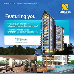 How about an entire floor to keep you pumped up and going? From entertainment to fitness, Nucleus Raymount at Kalamassery has it all fully loaded for you.   Visit us at www.nucleusproperties.com #Apartment #LuxuryHomes #LiveLife #Kalamassery #Kerala  #Ker (nucleusproperties) Tags: beautiful life livelife kochi elegant style kerala luxuryapartment kalamassery realestate lifestyle india luxury comfort nature apartment architecture luxuryhomes interior gorgeous design elegance environment beauty building exquisite view city construction atmosphere home