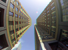 Symphony Zuidas Amsterdam 3D GoPro (wim hoppenbrouwers) Tags: anaglyph stereo redcyan symphony zuidas amsterdam 3d gopro
