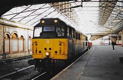 31163 Crewe Scan (Waddo's World of Railways) Tags: 31163 163 31 ped crewe class31 crewestation loco locomotive dutch rail railway train