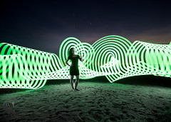 1 Sublime pixelstick-3 (Singing With Light) Tags: 2016 4th alpha6000 augustmirrorless gulfbeach singingwithlight sonya6000 sorf06 firewall lightspinning photography pixelstick singingwithlightphotography sony spinning sunset umbrella
