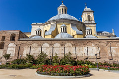 Basilica Exterior (Five Second Rule) Tags: madrid travel spain capital 2018 basilicaofsanfranciscoelgrande church religion exterior garden