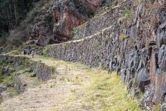 These Inca terraces were big (Jean-François Chénier) Tags: pisac ruins terraces