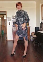 Karen (Karen Maris) Tags: tgirl tg tgurl karen legs tranny trannie transgender transsexual transvestite pantyhose heels tights redhead crossdress crossdresser