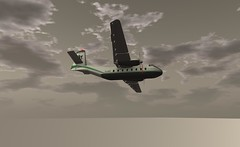 "DHC 4 in air atlantique colours (Jenny ""Oxymoron"" D) Tags: dhc4 dhc vintahe air atlantique slaviation sl aviation aircraft"