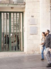 !7 Jaffa Street - Mirror Door-1 (zeevveez) Tags: זאבברקן zeevveez zeevbarkan canon people mirrorphotography mirror jaffastreet