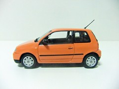 SEAT AROSA (1997) - MINICHAMPS (RMJ68) Tags: seat arosa 1997 mk1 volkswagen lupo vw minichamps paul model art diecast coches cars juguete toy promo promotional 143 scale