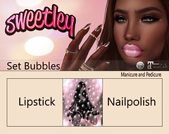 Sweetley - Set Bubbles add (Sweetley SL) Tags: sweetley secondlife sl catwa maitreya bento mesh lipstick nailpolish hud applier exclusvie thefashiondistrict original newrelease copyrighted style trendy beautiful flower rose pink cosmetics makeup special