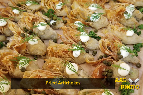 """Fried Artichokes • <a style=""""font-size:0.8em;"""" href=""""http://www.flickr.com/photos/159796538@N03/45670570571/"""" target=""""_blank"""">View on Flickr</a>"""