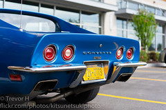 Corvette Stingray 2 (Kenjis9965) Tags: sonnar5518za sonnartfe1855 sony a7 sonya7iii iii a7iii zeiss corvette stingray classic blue pretty muscle 427 sitting parked saturated