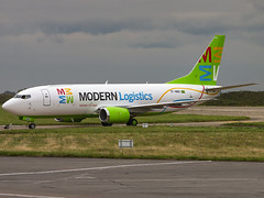 Modern Logistics | Boeing 737-3Y0(SF) | TF-BBD (Bradley's Aviation Photography) Tags: nwi norwichairport norwich egsh canon70d aircraft air aviation airplane airport aeroplane aerospace plane planespotting flying flight boeing b733 cargo tfbbd 737 boeing737 modernlogistics boeing7373y0sf ppybd airlivery