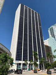 100 Biscayne Renovations Downtown Miami (Phillip Pessar) Tags: tower world new midcentury century mid miami downtown architecture building