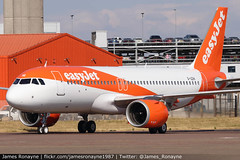 G-UZHI | Airbus A320-251 | easyJet (james.ronayne) Tags: guzhi airbus a320251 easyjet aeroplane airplane plane aircraft jet aviation flight flying london luton ltn eggw canon 80d 100400mm raw