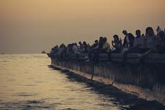 Suadiye (bilgehanbilge) Tags: sky sea deniz peoples insan gökyüzü günbatımı silhouette siluet