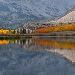 North Lake Fall Colors Reflection thumbnail