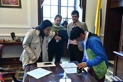 Llamado de Urgencia del Proyecto de Ley de Modernización de las TIC ante el congreso de la República por parte de la Ministra TIC Sylvia Constaín (Ministerio TIC de Colombia) Tags: llamado de urgencia del proyecto ley modernización las tic ante el congreso la república por parte ministra sylvia constaín
